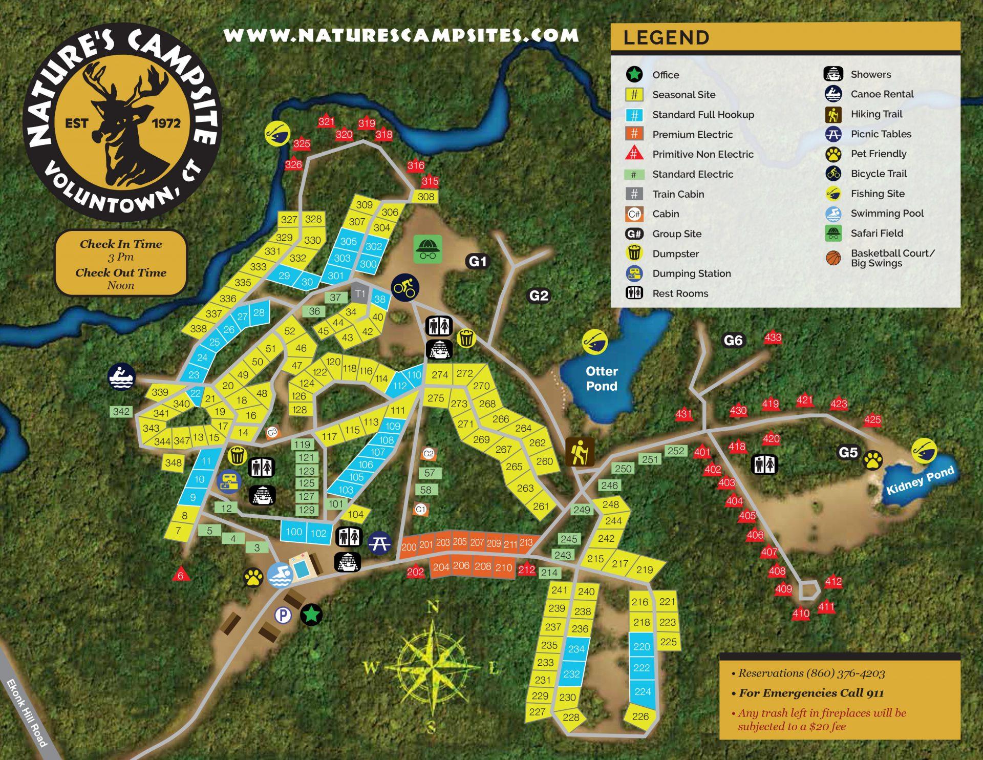 Natures-Campsites-Map